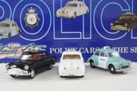 Police Cars of the 60s, 3 Car Set