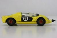 Corgi 344; Ferrari 206 Dino Sport; Yellow with red spot wheels