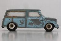 Dinky Toys 199; Austin 7 Countryman; Grey-Blue, Red Seats