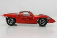 Dinky Toys 220; Ferrari P5; Metallic Red - Speedwheels