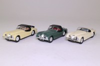 Corgi Classics 97705; Jaguar 1953 RAC Rally 3 Pce Set; Green, Cream & White