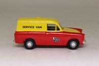 Corgi Classics CC99714; Ford Anglia Van; JCB Service