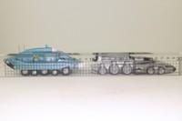 Corgi Classics CC96399; Captain Scarlet 2 Pce Set; Spectrum Pursuit Vehicle & Rhino