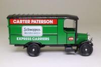 Corgi Classics C842; 1929 Thornycroft Van; Carter Paterson, Schweppes Advert