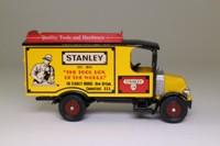 Corgi Classics C906/6; 1920 Mack AC Van; Stanley Too!s, Yellow & Black