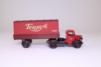 Corgi Classics 18402; Bedford O Series Artic; Dropside Trailer with Tilt, Terrys of York