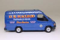 Corgi Classics CC07803; 1992 Ford Transit Van; DR Macleod, Highlnds & Islands