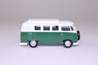 Corgi Classics 97040; Volkswagen Transporter; Green & White, Spare Wheel & Dormobile Roof
