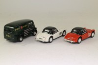 Corgi Classics 97695; The Abingdon Set; Red MGA, White MGA & Morris J Van