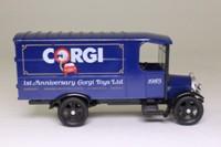 Corgi Classics C923; 1929 Thornycroft Van; Corgi Toys Ltd, 1st Anniversary, 1985