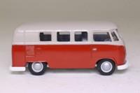 Corgi Classics D984/1; Volkswagen Transporter; Red & Grey