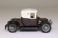 Corgi Classics C862; 1910 Renault 12/16 Coupe; Brown, White Hood