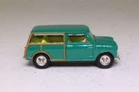Atlas Dinky Toys 197; Morris Mini Traveller; Green, Yellow Seats