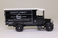 Corgi C910; 1929 Thornycroft Van; Small & Parkes, Safety First; Excellent Boxed