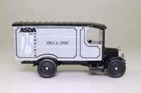 Corgi Classics Q859/16; 1929 Thornycroft Van; ASDA: Silver, 25th Anniversary