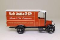 Corgi Classics C830; 1929 Thornycroft Van; W&R Jacobs; Biscuits