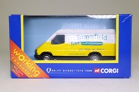 Corgi Classics TY82005; 1992 Ford Transit Van; Somerfield; Yellow/White