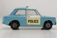 Corgi 506; Sunbeam Imp; Police Panda Car; Blue, White Doors & Half Roof