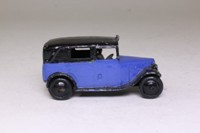 Dinky Toys 36g; Taxi With Driver; Blue & Black