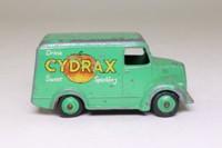 Dinky Toys 454; Trojan 15cwt Van; Drink Cydrax