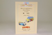 Corgi Classics 98759; The Dandy 2 Van Set; Bedford CA: Desperate Dan; Morris J: Korky the Cat