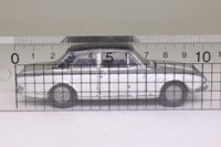Dinky Toys 169; Ford Corsair 2000E; Silver Metallic, Black Roof