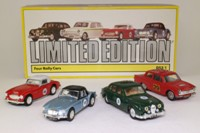 Classic Rally Cars 4 Pce Set