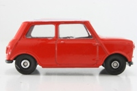 Cameo - Morris Mini - Red with white roof; Fina