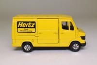 Corgi 575; Mercedes-Benz Van 207D; Hertz Truck Rental & Leasing