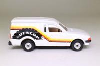 Corgi Classics 503; Ford Escort Van MkIII 55; Dunlop; White with yellow/orange/black stripe