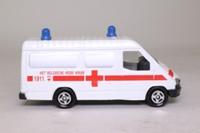 Corgi Classics C656; 1992 Ford Transit Van; Belgian Red Cross, Het Belgische Rode Kruis