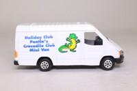 Corgi Classics C656; 1992 Ford Transit Van; Pontin's Holiday Club, Crocodile Club