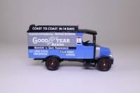 Corgi Classics 98481; 1920 Mack AC Van; Goodyear Transcontinental Van Service