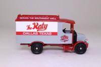 Corgi Classics 50601; 1920 Mack AC Van; MKT; Missouri-Kansas-Texas; Katy Railroad