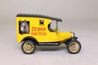 Corgi Classics C873; 1915 Ford Model T Van; Zebra Grate Polish