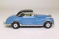 Corgi Classics C806/4; 1956 Mercedes-Benz 300 SC Convertible; Soft Top, Blue-Grey, Black Hood
