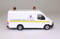Corgi Classics C656/28; Ford Transit Van; Nottinghamshire Ambulance Service Engineering