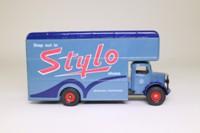 Corgi Classics C953/9; Bedford O Series Pantechnicon; Stylo Shoes, Grey/Blue