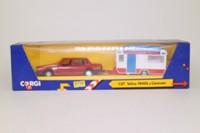 Corgi Classics C57; Car & Caravan Set; Volvo 740GL