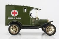 Corgi Classics C865/7; 1915 Ford Model T Van; Order of St John, Military Ambulance, Olive drab