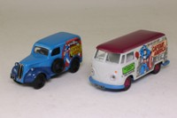 Corgi Classics 98973; Captain America 2 Van Set; VW Transporter & Ford Popular