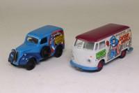 Corgi Classics 98973; Captain America 2 Van Set; VW Transporter & Ford Popular