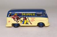 Corgi Classics 98757; Volkswagen Transporter Van; Comic Classics, The Skipper