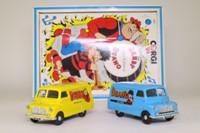 Dandy & Beano 2 Van Set