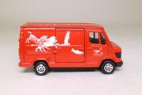 Corgi 58402; Mercedes-Benz Van 207D; London Zoo