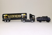 Corgi Classics 59564; Guinness Past & Present Set; Scania Tanker & Karrier Dropside with Load