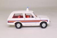 Dinky Toys 254; Range Rover Police; White, Regular Wheels