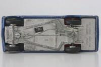 Dinky Toys 136; Vauxhall Viva HA Saloon; Dark Blue Metallic, Red Seats, Spun Hubs