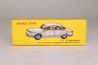 Atlas Dinky Toys 547; Panhard PL17; White