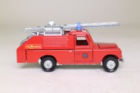 Dinky Toys 282; Land Rover Fire Engine; Fire Service, Red